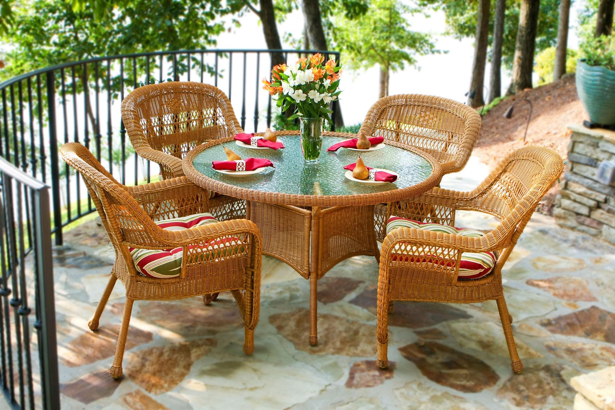 Садовая мебель из натурального ротанга